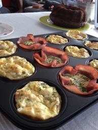 Egg muffins Thermomix